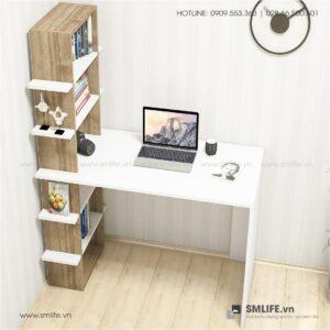 Bàn làm việc, bàn học gỗ hiện đại Dobby (1)