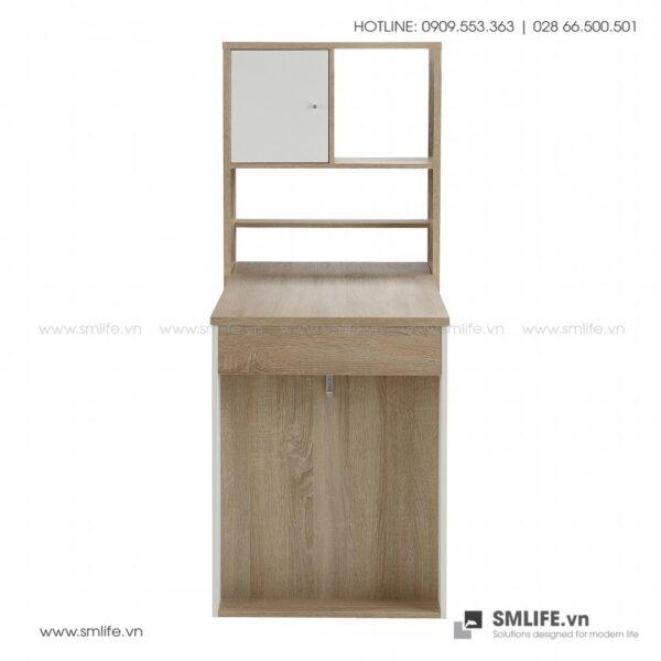 Bàn làm việc, bàn học gỗ hiện đại Domenico (6)