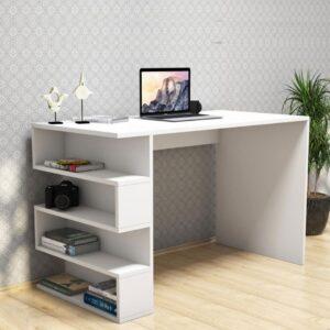 SMLIFE | Bàn làm việc, bàn học gỗ hiện đại Domino