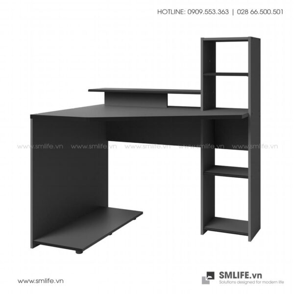 Bàn làm việc, bàn học gỗ hiện đại Dondre (2)
