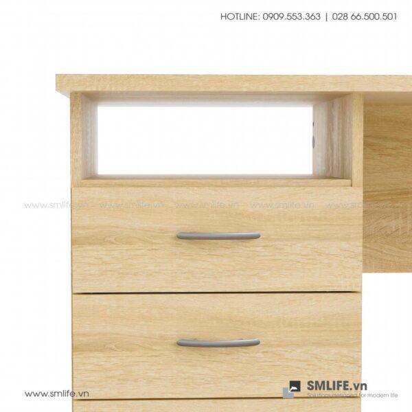 Bàn làm việc, bàn học gỗ hiện đại Drace (20)