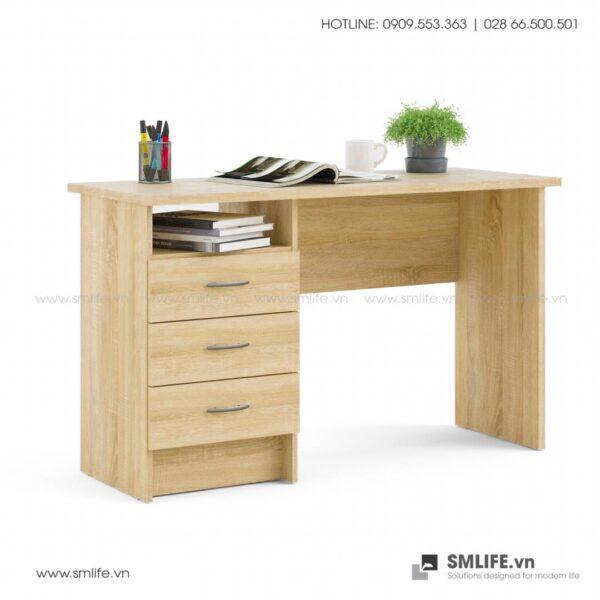 Bàn làm việc, bàn học gỗ hiện đại Drace (4)