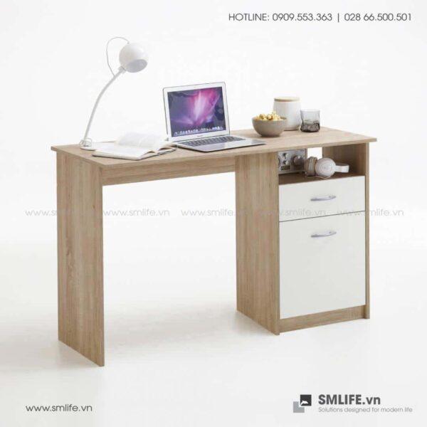 Bàn làm việc, bàn học gỗ hiện đại Duane (6)