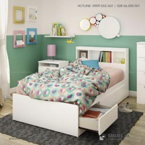Giường ngủ gỗ hiện đại Sandra (5)