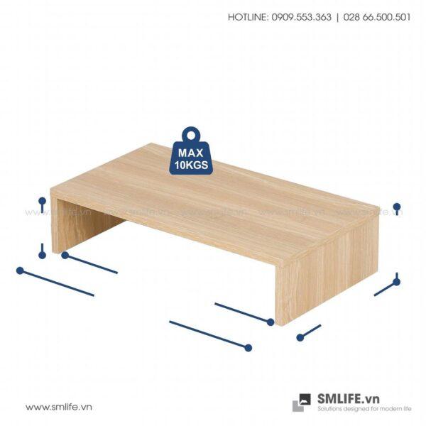 Kệ để bàn gỗ hiện đại Angela (2)