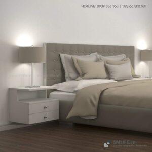 Kệ gỗ đầu giường hiện đại Natasha (5)