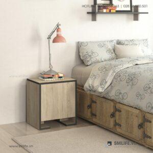 Kệ gỗ đầu giường hiện đại Nelson (1)