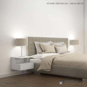 Kệ gỗ đầu giường hiện đại Novak (4)