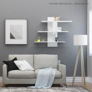 Kệ gỗ treo tường trang trí hiện đại Wilfold (9)