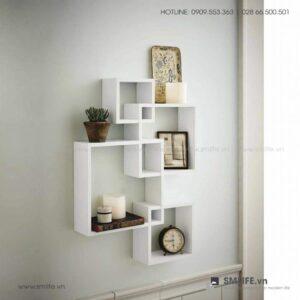 Kệ gỗ treo tường trang trí hiện đại Wink (1)
