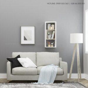 Kệ gỗ treo tường trang trí hiện đại Wiona (5)
