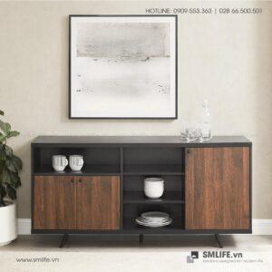 Tủ phòng ăn gỗ hiện đại Debbie (1)