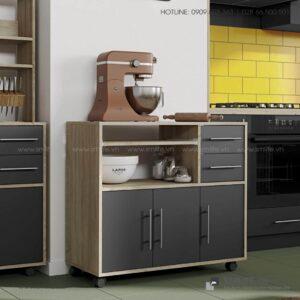Tủ phòng ăn gỗ hiện đại Dominic (1)