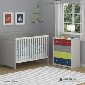 Tủ phòng ngủ gỗ hiện đại Salma (2)