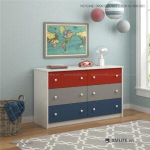 Tủ phòng ngủ gỗ hiện đại Sidney (1)