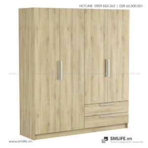 Tủ quần áo gỗ hiện đại Cory (4)