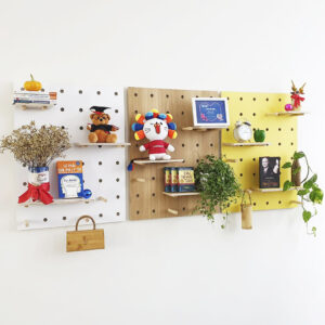 Bảng Gỗ Đục Lỗ Pegboard WP3s (Combo Special)