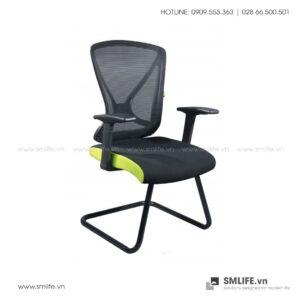 Ghế phòng họp chân quỳ lưng lưới VALDUS | SMLIFE.vn