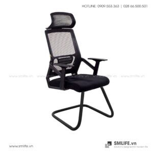 Ghế phòng họp chân quỳ lưng lưới YORAM | SMLIFE.vn