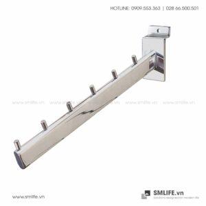 Giá treo Oval nghiêng gắn tường (1)