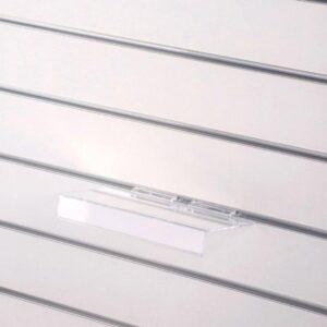 Kệ mica trưng bày kèm bảng giá cài tấm Slatwall (4)