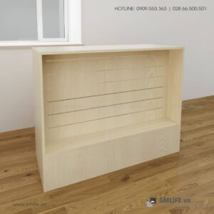 Quầy gỗ Slatwall SASAN