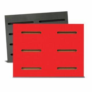 Tấm gỗ xẻ rãnh Dash Panel - Đỏ (1)