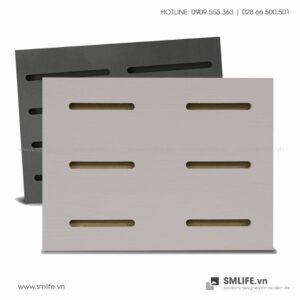 Tấm gỗ xẻ rãnh Dash Panel - Latte (1)