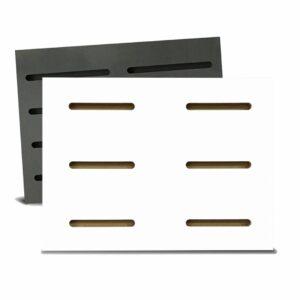 Tấm gỗ xẻ rãnh Dash Panel - Trắng (1)
