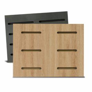 Tấm gỗ xẻ rãnh Dash Panel - Vân sồi (1)