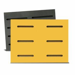 Tấm gỗ xẻ rãnh Dash Panel - Vàng (1)