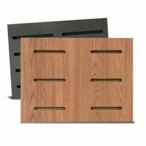 Tấm gỗ xẻ rãnh Dash Panel - Walnut nhạt (1)