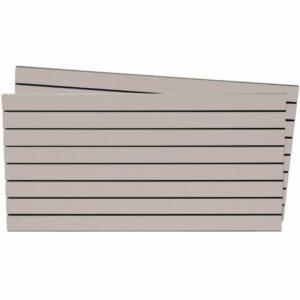 Tấm gỗ xẻ rãnh Slatwall - Latte (1)