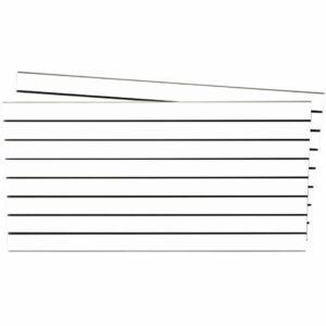Tấm gỗ xẻ rãnh Slatwall - Trắng (1)