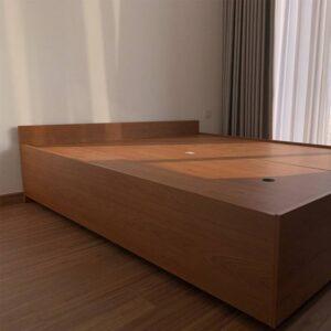 Kệ gỗ SMLIFE - Màu Walnut nhạt (2)