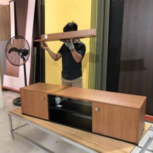 Kệ gỗ SMLIFE - Màu Walnut nhạt (4)