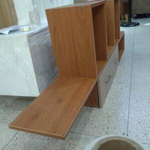 Kệ gỗ SMLIFE - Màu Walnut nhạt (5)