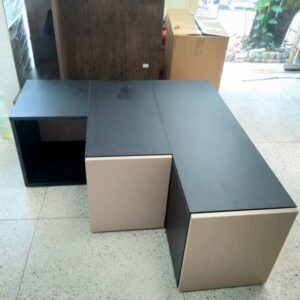 Kệ gỗ SMLIFE - Màu đen (6)
