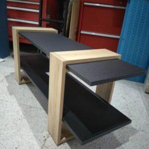 Kệ gỗ SMLIFE - Màu đen (8)