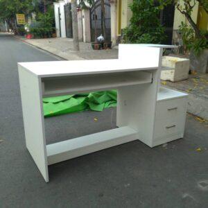 Kệ gỗ SMLIFE - Màu trắng (5)