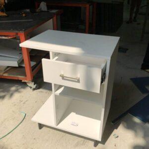 Kệ gỗ SMLIFE - Màu trắng (7)