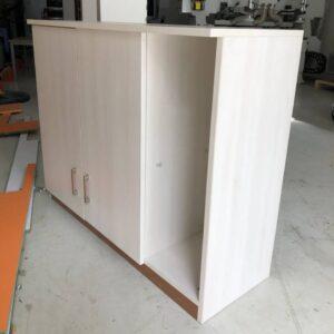 Kệ gỗ SMLIFE - Màu trắng ngà (3)