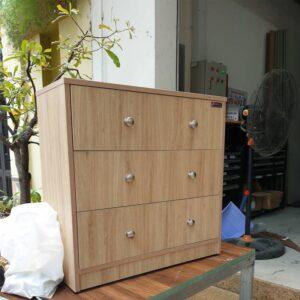Kệ gỗ SMLIFE - Màu vân sồi (1)
