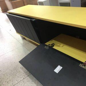 Kệ gỗ SMLIFE - Màu vàng (4)