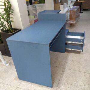 Kệ gỗ SMLIFE - Màu xanh ngọc (1)