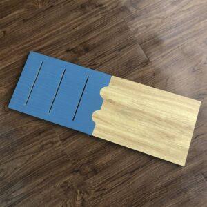 Kệ gỗ SMLIFE - Màu xanh ngọc (10)