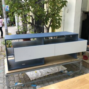 Kệ gỗ SMLIFE - Màu xanh ngọc (5)