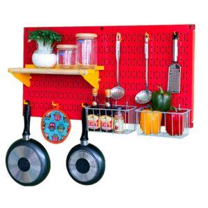 Bảng treo dụng cụ Pegboard nhà bếp