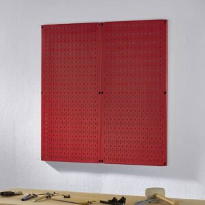 Bảng treo dụng cụ Pegboard SMLIFE - Đỏ (1)
