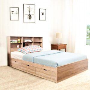 Giường ngủ gỗ hiện đại Selena (2)